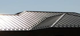 Metal Roof installed by Yoder Construction Company